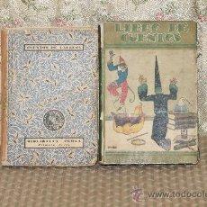Libros antiguos: 3280- LIBRO DE CUENTOS Y CUENTOS DE CALLEJA. PRIMERA SERIE. EDIT. SATURNINO CALLEJA. 2 LIBROS. 1933.. Lote 37451331