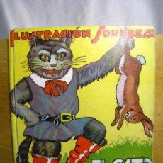 Libros antiguos: EL GATO CON BOTAS - ILUSTRACION SORPRESA - MOLINO. Lote 37472359