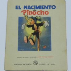 Libros antiguos: NACIMIENTO DE PINOCHO, DE LA ANTIGUA EDITORIAL DE SATURNINO CALLEJA, DE MADRID. ILUSTRACIONES DE MOR. Lote 37580541