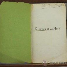 Libros antiguos: 3547- CUENTOS DE LA MAMA. S/E. S/F. VARIOS CUENTOS ENCUADERNADOS S XIX.. Lote 38292033