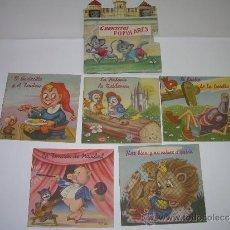 Libros antiguos: ESTUCHE CON CINCO....CUENTITOS POPULARES.. Lote 38304257