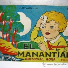 Libros antiguos: EL MANANTIAL - ENSENYANCES VIVES Nº 2 - ROMA EDITOR. Lote 38381266