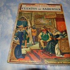 Libros antiguos: BIBLIOTECA PARA NIÑOS CUENTOS DE ANDERSEN. Lote 38471585