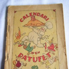 Libros antiguos: 1936 - CALENDARI D´EN PATUFET - CALENDARIO. Lote 38706361