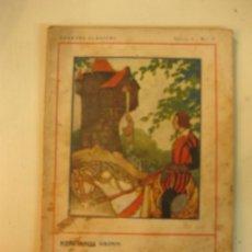 Libros antiguos: CUENTOS CLASICOS SERIE I.-Nº 4. HERMANOS GRIM. REPUNCEL.... ED, JUVENTUD, 1930.. Lote 38710793