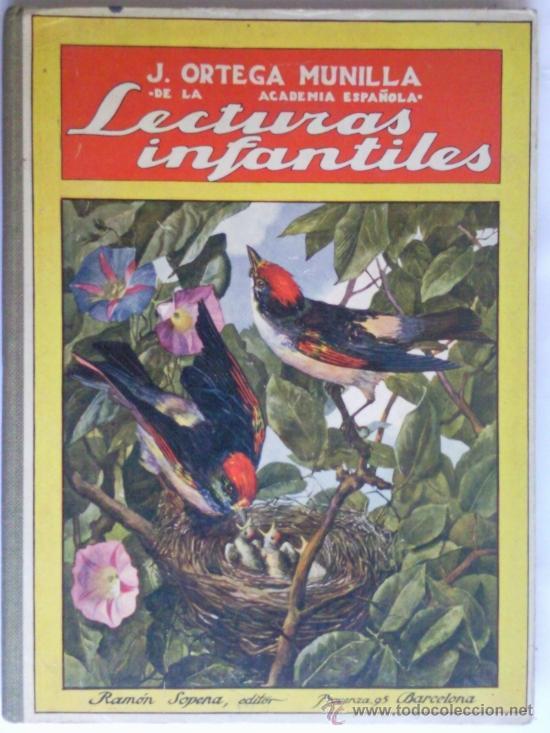 LECTURAS INFANTILES, BIBLIOTECA PARA NIÑOS, 1935, EDITORAL SOPENA (Libros Antiguos, Raros y Curiosos - Literatura Infantil y Juvenil - Cuentos)