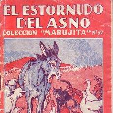 Libros antiguos: C28- CUENTO. EL ESTORNUDO DEL ASNO. EDIC.MOLINO DE 1935. Lote 38848012