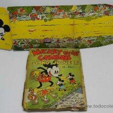 Libros antiguos: ANTIGUO CUENTO MICKEY EN LAS CARRERAS - LIBRO JUGUETE - CUENTO E ILUSTRACIONES POR WALT DISNEY - ED.. Lote 38870866