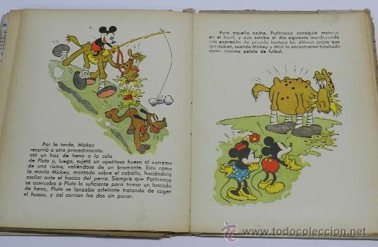 Libros antiguos: ANTIGUO CUENTO MICKEY EN LAS CARRERAS - LIBRO JUGUETE - CUENTO E ILUSTRACIONES POR WALT DISNEY - ED. - Foto 2 - 38870866