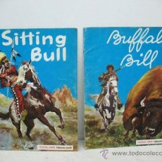 Libros antiguos: LOTE DE 2 CUENTOS / BUFFALO BILL -SITTING BULL -COLECCION STRONG. Lote 38899205