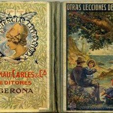 Libros antiguos: OTRAS LECCIONES DE COSAS (DALMAU CARLES, 1914) . Lote 38903642