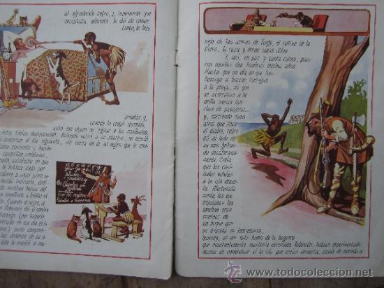 Libros antiguos: cuentos en colores - V III - robinson crusoe , ramon sopena - dibujos ASHA - Foto 9 - 38902895
