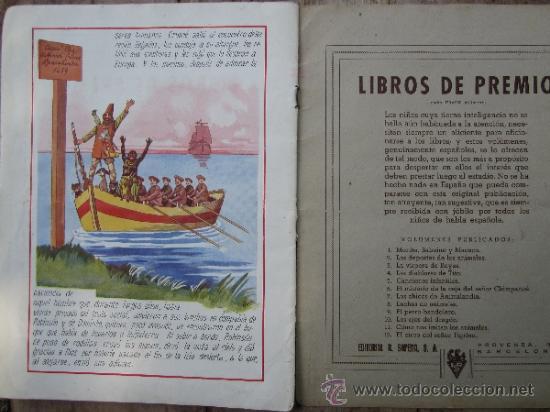 Libros antiguos: cuentos en colores - V III - robinson crusoe , ramon sopena - dibujos ASHA - Foto 10 - 38902895