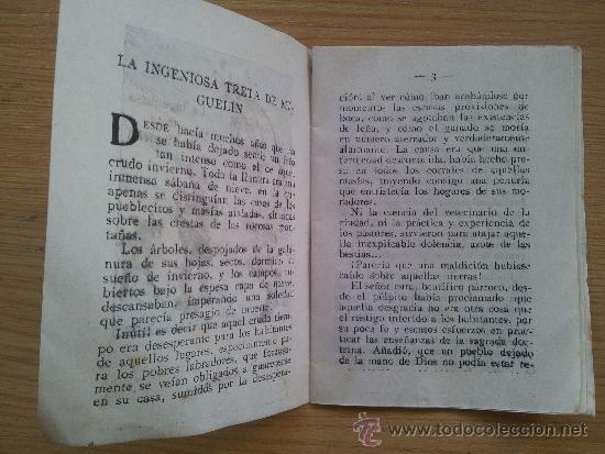 Libros antiguos: Cuento miniatura la ingeniosa treta de miguelin mide 10,5 x 7,5 cm - Foto 2 - 38915049