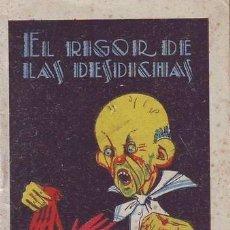 Libros antiguos: EL RIGOR DE LAS DESDICHAS. JOYAS PARA NIÑOS (CUENTOS MORALES) SERIE XIII, TOMO 243. CALLEJA. Lote 39057164