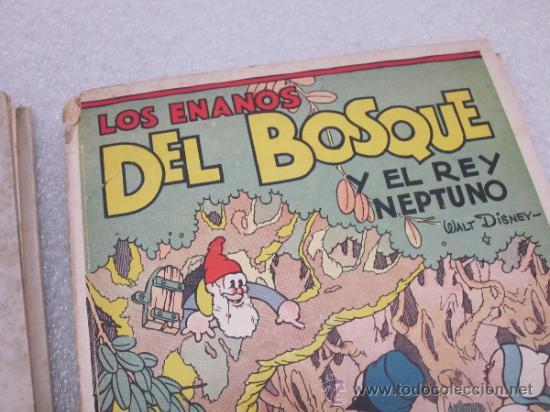 Libros antiguos: Lote de 2 libro de editorial el Molino. Los 3 cerditos y Enanos del bosque. - Foto 3 - 39111581