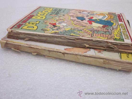Libros antiguos: Lote de 2 libro de editorial el Molino. Los 3 cerditos y Enanos del bosque. - Foto 4 - 39111581
