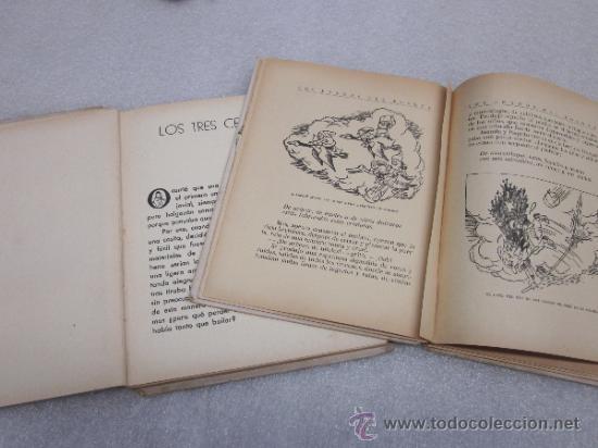 Libros antiguos: Lote de 2 libro de editorial el Molino. Los 3 cerditos y Enanos del bosque. - Foto 6 - 39111581