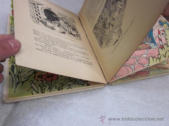 Libros antiguos: Lote de 2 libro de editorial el Molino. Los 3 cerditos y Enanos del bosque. - Foto 9 - 39111581