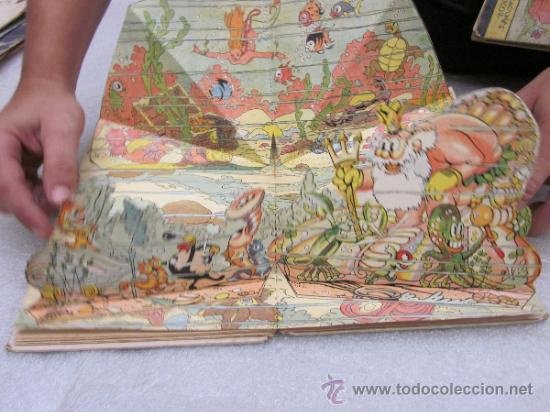 Libros antiguos: Lote de 2 libro de editorial el Molino. Los 3 cerditos y Enanos del bosque. - Foto 11 - 39111581
