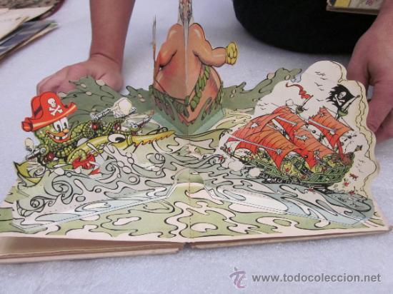Libros antiguos: Lote de 2 libro de editorial el Molino. Los 3 cerditos y Enanos del bosque. - Foto 12 - 39111581