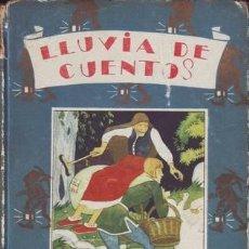 Libros antiguos: LLUVIA DE CUENTOS. CUENTOS DE CALLEJA. BIBLIOTECA ENCICLOPÉDICA Nº2.. Lote 39154802