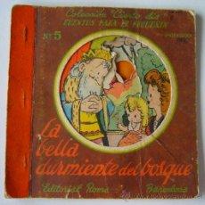 Libros antiguos: CUENTO COLECCION CIERTO DIA - CUENTOS PARA EL PEQUÑIN - Nº5 - ILUST. SABATES - LA BELLA DURMIENTE DE. Lote 39239598