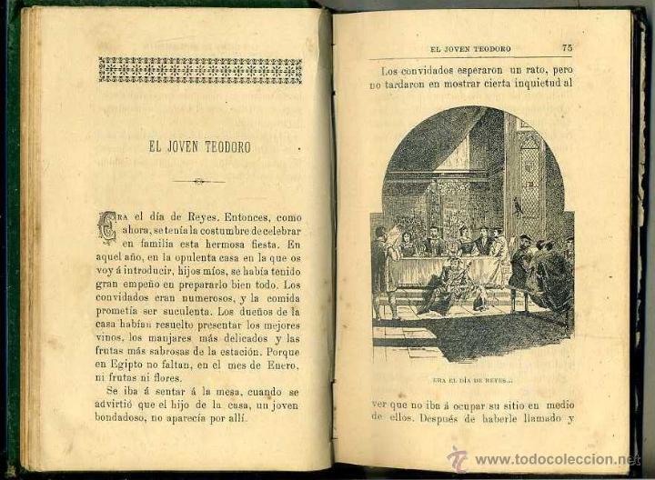 Libros antiguos: SENCILLAS HISTORIAS DE LOS PADRES DEL DESIERTO (TIP. CATÓLICA, 1893) ILUSTRADO - Foto 2 - 39329176