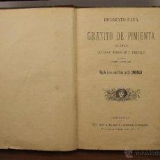 Libros antiguos: 3912- GRANITO DE PIMIENTA. HONORATO FAVA. EDIT. RAMON MOLINA. S/F. . Lote 39414352