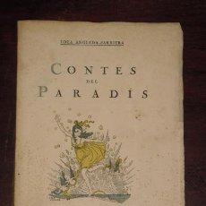 Libros antiguos: CONTES DEL PARADÍS. ANGLADA SARRIERA, LOLA. 1920.. Lote 40172841