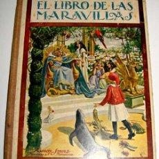 Libros antiguos - Sopena Ramón. El Libro de las Maravillas - 38234700