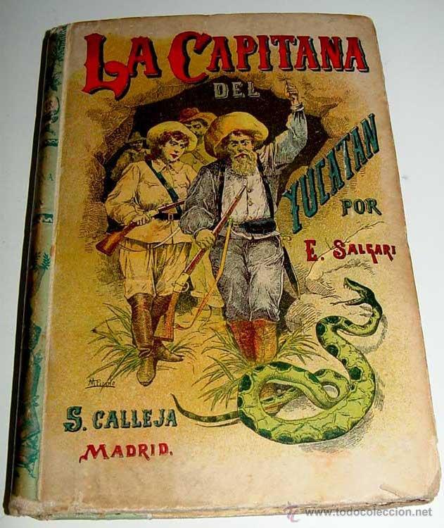 la capitana del yucatan - emilio salgari - s. - Comprar Libros ...