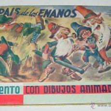 Libros antiguos: ANTIGUO CUENTO CON ILUSTRACIONES TRIDIMENSIONALES Y GAFAS PARA VERLO -. EL PAIS DE LOS ENANOS . CUEN. Lote 38246590