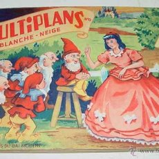 Libros antiguos: ANTIGUO CUENTO POP UP BOOKS - CONTES MULTIPLANS Nº6 - BLANCHE-NEIGE - CUENTO JUGUETE O SORPRESA - CO. Lote 38249882