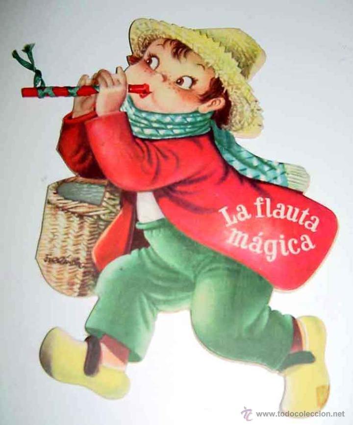 ANTIGUO CUENTO TROQUELADO LA FLAUTA MAGICA - POP UP BOOKS - TEXTOS Y DIBUJOS DE FERRANDIZ - ED. VILC (Libros Antiguos, Raros y Curiosos - Literatura Infantil y Juvenil - Cuentos)