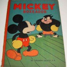 Libros antiguos: ANTIGUO CUENTO DE SATURNINO CALLEJA S.A. - MICKEY BOXEADOR - ILUSTRACIONES DE WALT DISNEY - EDITORIA. Lote 38255330