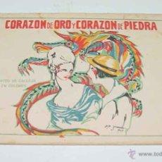 Libri antichi: CORAZON DE ORO Y CORAZON DE PIEDRA - ED. SATURNINO CALLEJA, CUENTOS DE CALLEJA EN COLORES . ILUSTRAC. Lote 38255535