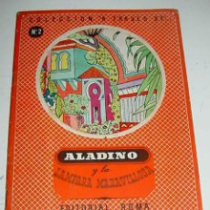 Libros antiguos: ANTIGUO CUENTO ALADINO Y LA LAMPARA MARAVILLOSA . COLECCION A TRAVES DE - EDITORIAL ROMA - POP UP BO. Lote 38257343