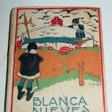 Libros antiguos: ANTIGUO CUENTO LA PRINCESITA BLANCA NIEVES - ILUSTRACIONES DE M. ANGEL - PORTADA ILUSTRADA POR PENAG. Lote 38261763