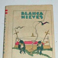 Libros antiguos: CUENTO DE CALLEJA - BIBLIOTECA DE RECREO - TOMO - LA PRINCESITA BLANCA NIEVES - ILUSTRACIONES DE M. . Lote 38262756