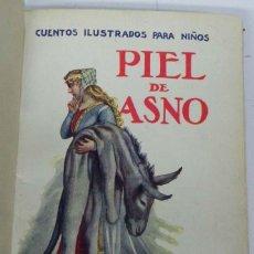 Libros antiguos: 10 CUENTOS ILUSTRADOS PARA NIÑOS, ED. RAMON SOPENA, ENCUADERNADOS EN UN TOMO, INCLUYE (PIEL DE ASNO,. Lote 38282806