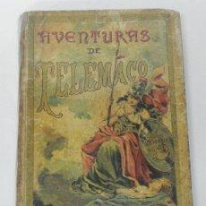 Libros antiguos: AVENTURAS DE TELEMACO. HIJOS DE S. RODRIGUEZ. FENELÓN. BURGOS. TERCERA EDICIÓN. MADRID 1902. GRABADO. Lote 38286476