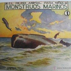 Libros antiguos: MONSTRUOS MARINOS. 1. Lote 40666943