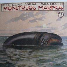 Libros antiguos: MONSTRUOS MARINOS. 2. Lote 40666987