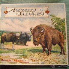 Libros antiguos: EL REINO ANIMAL PARA NIÑOS.- ANIMALES SALVAJES Nº 3. Lote 40881578