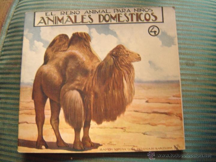 EL REINO ANIMAL PARA NIÑOS.- ANIMALES DOMESTICOS Nº4 (Libros Antiguos, Raros y Curiosos - Literatura Infantil y Juvenil - Cuentos)