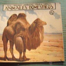 Libros antiguos: EL REINO ANIMAL PARA NIÑOS.- ANIMALES DOMESTICOS Nº4. Lote 40881613