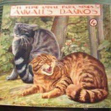 Libros antiguos: EL REINO ANIMAL PARA NIÑOS.- ANIMALES DAÑINOS Nº4. Lote 40881670