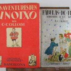 Libros antiguos: 4152- LOTE DE 5 CUENTOS INFANTILES EN CASTELLANO Y FRANCES. VARIAS EDIT. VER DESCRIPCION. AÑOS 30/50. Lote 40921379