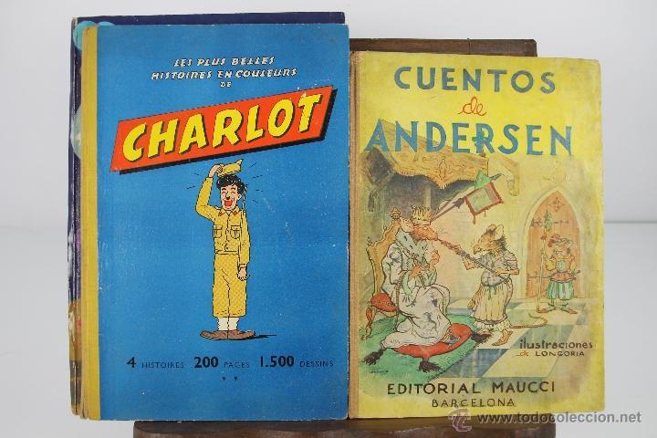 Libros antiguos: 4152- LOTE DE 5 CUENTOS INFANTILES EN CASTELLANO Y FRANCES. VARIAS EDIT. VER DESCRIPCION. AÑOS 30/50 - Foto 2 - 40921379